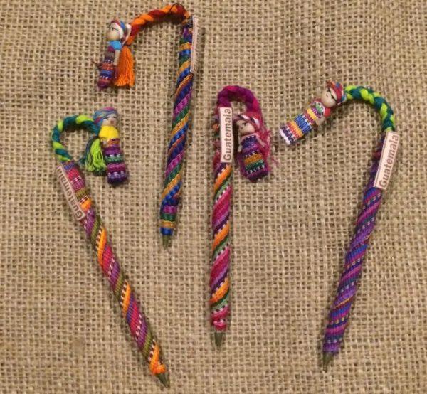 guatemalan cloth pen