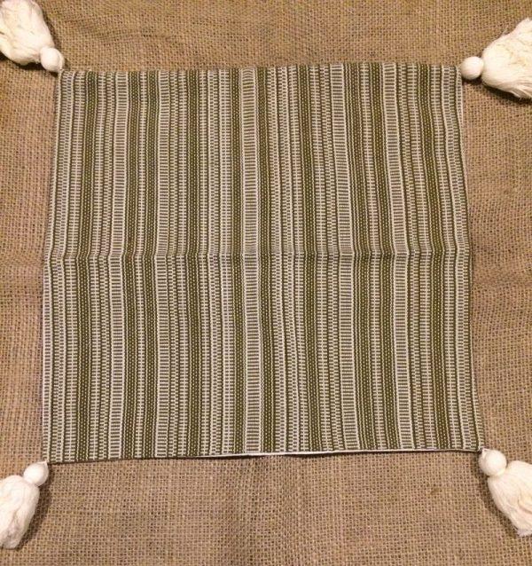 guatemalan woven pillow case
