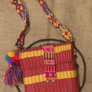 Brightly Colored Small Market Bag