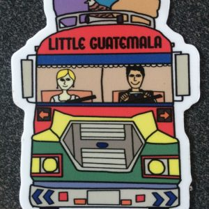 Little Guatemala Sticker (small)